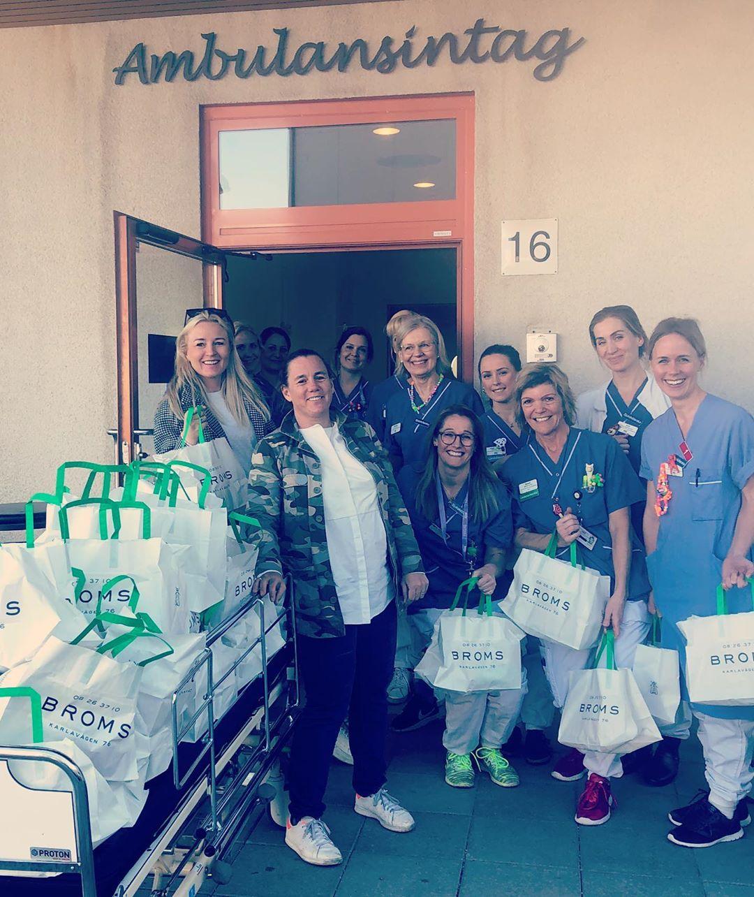 Matr till Vården-leverans till Ambulansintag
